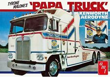 AMT 1/25 Tyrone Malone's Papa Truck Kenworth Aerodyne PLASTIC MODEL KIT 932