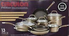 Circulon® Premier Professional Hard Anodized Nonstick 13Pc Cookware Set New