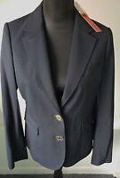 Tory Burch NWT Pierre Navy Blazer Jacket Wool Blend Sizes 6 and 8 Retail $395