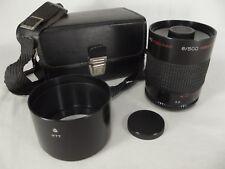 MC Rubinar Macro Russian lens 8/ 500mm M77 S/N 950422 leather case RARE!