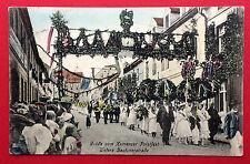 Anlass AK KAMENZ 1917 Forstfest Festzug untere Bautznerstrasse  ( 15514