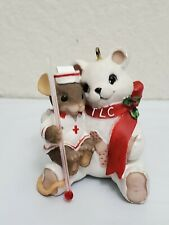 Charming Tails Tlc Nurse Bear Christmas Ornament Thermometer Gift Love Collect