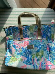 Lilly Pulitzer NWOT GWP Convertible Tote Backpack Fished My Wish