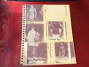 Group Of Original 1970s Wrestler Photos From Orlando Dusty Rhodes