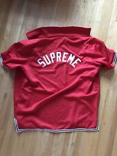 SUPREME Kings Basketball Warm Up Jersey Arch Logo Red XL Bogo