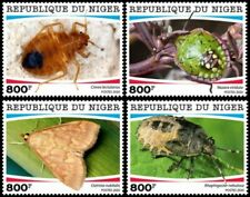 Niger - 2020 Insects and Parasites - Set of 4 Stamps - NIG200115c