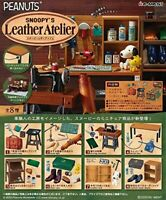 PSL SNOOPY'S Leather Atelier BOX Miniature set of 8 PEANUTS Re-ment Japan NEW