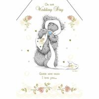 Me To You Wedding Card - Wedding Day I Love You Greetings Card - Tatty Teddy