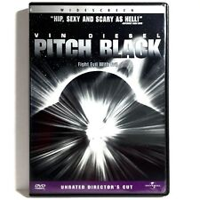 Pitch Black (Dvd, 1999, Widescreen) Like New ! Vin Diesel Cole Hauser