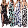 Fashion Women Summer Boho Long Maxi Evening Party Dress Beach Dresses Sundress