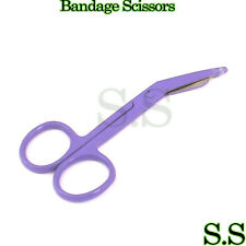 "Lister Bandage Scissors 3.5"" Purple Color Surgical Instruments Stainless Steel"