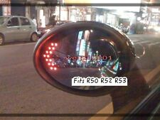 RED R50 R52 R53 2001-2006 MINI COOPER LED MIRROR JCW WITH DEFOG Clearance SALE