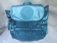 Rare Travel Blue genuine Kipling Large Rucksack Bag Holiday gift