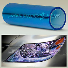 "12""x84"" Chameleon Neo Blue Color Headlight Taillight Fog Light Vinyl Tint Film"