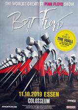 BRIT FLOYD - 2019 - Plakat - Concert - Pink Floyd - The Wall - Poster - Essen