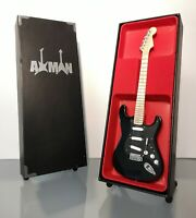 David Gilmour (Pink Floyd) - Black Strat: Miniature Guitar Replica (UK Seller)
