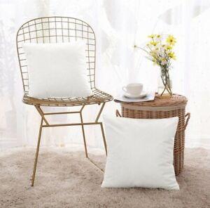 Deconovo Set of 2 Velvet Cushion Covers 40 x 40 cms 16 x 16 Inches