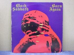 BLACK SABBATH - BORN AGAIN - 33 GIRI - LP - VG/NM