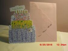 Carol's Rose Garden - Birthday - Birthday Cake of Beautiful flowers on cover