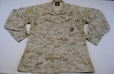 USMC US MARINE Military Desert Marpat Blouse Shirt MCCUU Camo Medium Long M L