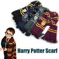 Harry Potter Hogwarts Adult Kids Scarf School Cosplay Halloween Costumes Gift
