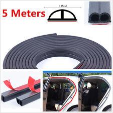 5M B-Shape Type Moulding Trim Rubber Strip Car Door Edge Seal Weather-strip