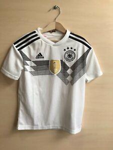 5+/5 Kids Deutschland 2018/2019 Home Size S Germany shirt jersey soccer football