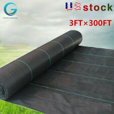 3Ft×300Ft Weed Barrier Fabric Landscape Blocker Fabric Heavy Duty High-Quality