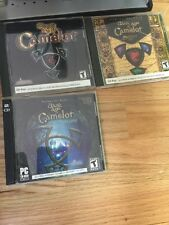 Lot Of Four CD Dark Age of Camelot-PC- Mythic Entertainment -Disk/Book 2001