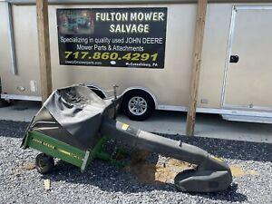 JOHN DEERE 425 445 455 345 335  MC519 BAGGER CART W/POWER FLOW 48 54 MOWER DECK