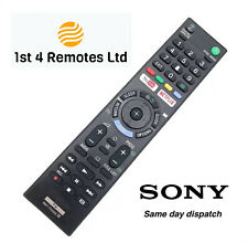 More details for sony rmt-tx300e replacement remote control bravia 3d tv netflix youtube buttons