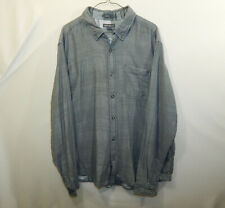 Eddie Bauer Mens Button Up Oxford Dress Shirt Classic Fit Size EXTRA LARGE XL