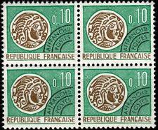 France 1964 Préoblitéré Bloc de 4  n° 123 Neuf ★★ luxe / MNH