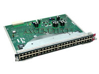 CISCO 4500 SERIES 48 PORTS 10/100 ETHERNET NETWORK SWITCH MODULE WS-X4148-RJ USA