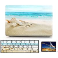 "Beach Sea Shells Matte Hard Case Protective Skin for Macbook Air Pro 11"" 13"" 15"""