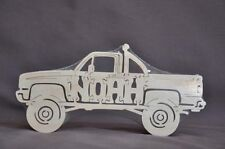 Custom Name of your Choice Car or Truck  Personalized Wooden Puzzle Toy