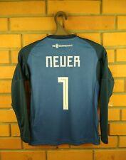 Neuer Germany Jersey 2018 2019 Youth 9-10 Shirt BQ8399 Football Adidas Soccer
