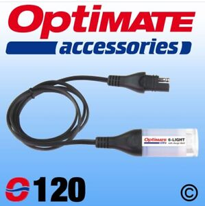 Véritable Optimate 6-Light Lampe + Batterie Carreaux Avec SAE Connexion (120)