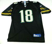 Reebok NFL Mens Jersey Black Jacksonville Jaguars #18 M.Jones Sz XL