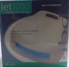 IBD Jet 1000 UV Lamp  Space-Saving dries UV topcoats, gels & acrylics higher wat