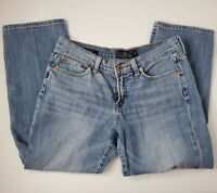 Lucky Brand Womens Jeans light Wash Easy Rider crop Size 4/27