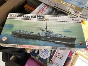 Flyhawk 1/700 1115S HMS Destroyer Lance 1941 full hull  With Etch