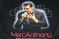 Marc Anthony / TOUR T-SHIRT / Marc Anthony.com - Black Large 44 - New