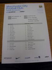 28/03/2014 Manchester City U21 V Sunderland U21 (singolo foglio). grazie per la vista