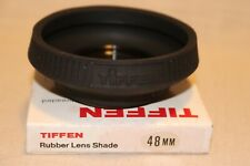 New TIFFEN 48mm Collapsible RUBBER Lens hood / Lens Shade, Double Threaded 48mm