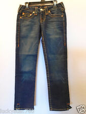 TRUE RELIGION KATE  WOMENS CROPPED/CAPRI JEANS SIZE 24