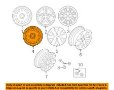 FORD OEM-Wheel-Alloy Aluminum F8RZ1007FA