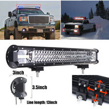 "22"" 648W LED Work Light Bar Flood Spot Combo Beam Driving Lamp Car Truck Offroad"