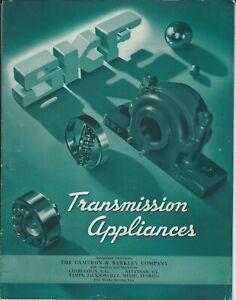 MRO Catalog - SKF - Transmission Appliances Pillow Block Bearing - 1944 (MR303)