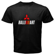 Mitsubishi Ralliart EVO Car Rally AWD Black T-Shirt Men or Women Distro
